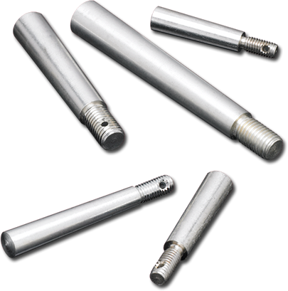 THREADED<br />TAPER PINS